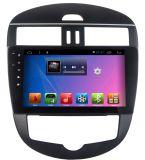 De androïde Auto DVD van het Systeem voor Nissan Nieuwe Tiida met de Speler/de Navigatie van de Auto GPS/Car