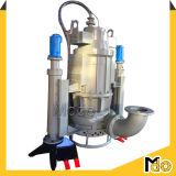 Hydraulischer Quirl-zentrifugale versenkbare Schlamm-Pumpe für das Ausbaggern