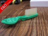 Cepillo de dientes de nylon de la prisión del dedo de la cárcel