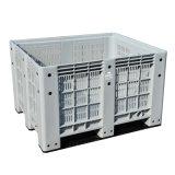 Escaninho/caixa plásticos feitos HDPE da pálete do armazenamento de 1200X1000X760mm