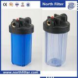 Huisvesting Van uitstekende kwaliteit van de Filter van het Water van de Draad van het messing de Grote Blauwe