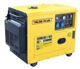 5 KVAの無声ディーゼル発電機(DG6500ES)