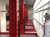 Автомобильные 2 уровня паркуя подъем стоянкы автомобилей автомобиля столба лифта 2 автомобиля франтовской