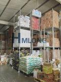 Palette mobile d'entrepôt industriel empilant la crémaillère