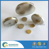 N35 ~ N55 Grade Customized Gold Coated Permanent Neodymium Magnet Fabricant