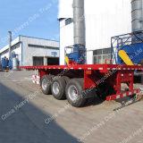 Di fabbrica di prezzi dell'Tri-Asse della molla a lamelle 60ton 40FT del contenitore rimorchio 2016 semi