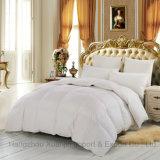 De algodão da tela do ganso Duvet branco luxuoso para baixo