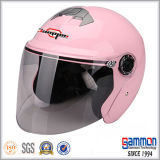 涼しいピンクの開いた表面モーターバイクまたはオートバイまたはスクーターのヘルメット(OP229)