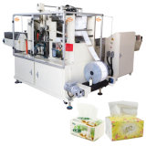 Fronte di taglio Tissue Paper Packing Machine per Handkerchief Making Machine