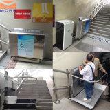 Lift van de Trede van het Platform van de helling de Elektrische voor Gehandicapt Gebruik