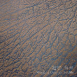 Tissu en cuir de bronzage décoratif de Nubuck de suède pour le sofa