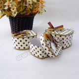 Изготовленный на заказ коробка Jewellry коробки подарка формы сердца картона упаковывая