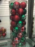 عيد ميلاد المسيح يزيّن كرة [ديا] [100مّ] في [بفك] برميل (صنع وفقا لطلب الزّبون)