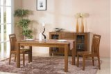Style agradável Dining Set Made por Solid Ash Wood (M-X1120)