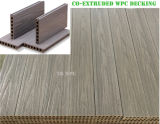 Levering Cheap 140*25mm WPC Shielded Decking