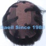 Chiusura cinese del merletto della parte dei capelli diritti dei capelli di Remy