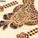 le Rhinestone adhésif de difficulté chaude de 24*40cm couvre le collier perlé par feuille en verre colorée de 2mm