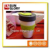Reforçar a caneca da porcelana com caixa do silicone e a tampa de Lkb034
