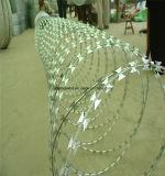 Пересеченная загородка ячеистой сети бритвы /Spiral ячеистой сети бритвы
