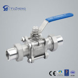 Socket Weldedの3PC Ball Valve