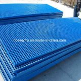 GRP FRP Pultruded et Molded Grating dans Constructions
