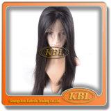 Productos de pelo de la peluca delantera de seda brasileña del cordón
