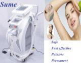 IPL van de Apparatuur van de Verwijdering van het Haar van de Tatoegering van de Laser van de Verwijdering van het Litteken van de Acne van de Verjonging van de huid Machine