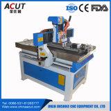 Ranurador de madera de escritorio del CNC de la máquina de grabado de madera del CNC de la venta del ranurador del CNC con rotatorio
