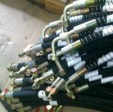 Draht verstärkter gewundener hydraulischer Gummischlauch für SAE100r12