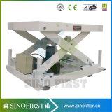1ton 3ton hydraulische stationäre Scissor Aufzug
