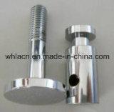 Soporte de la barandilla del acero inoxidable para las guarniciones del pasamano de la escalera (pieza de acero fundido)