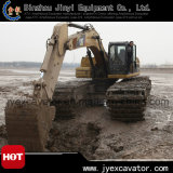 Hydraulisches Backhoe Excavator mit Undercarriage Pontoon