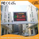 Placa de propaganda ao ar livre da placa de indicador do diodo emissor de luz P16 da instalação fácil