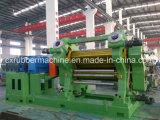 الصين صاحب مصنع أربعة/ثلاثة لفّ مطّاطة تقويم آلة