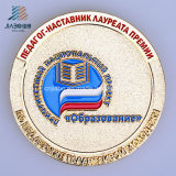 Подгонянные полиции стороны эмали и коммеморативные или монетка сувенира в металле
