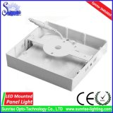 12W에 의하여 거치되는 LED 사각 아래로 또는 천장 빛 또는 램프