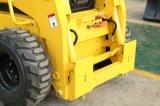 Bellâtres de dispositifs de protection en cas de renversement de la CE de caisse de chat sauvage de dumper de chargeur de boeuf de dérapage du chargeur Ws60 de roue de danse mini avec la planeuse