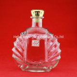 Bottiglie di vino eccellenti di vetro di silice della bottiglia di lusso della vodka delle bottiglie di vetro del fornitore 750ml 1000ml 1750ml