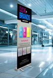 Aangepast Afgedrukt Uw Banner van Divers Ontwerp van het Embleem Pop Omhooggaande voor Supermarkt