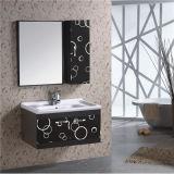 Vanité fixées au mur de salle de bains de qualité avec le Module latéral