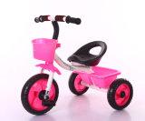El triciclo Trike del bebé con el marco de acero embroma los juguetes de la bici