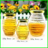 Frascos de vidro do pedreiro de 4 onças para o atolamento, mel, comida para bebé, enlatando, especiaria