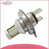 Lâmpada da iluminação da névoa do diodo emissor de luz do elevado desempenho H4 4014 Cabus auto