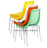 Удобное Stackable Plastic Metal Coffee и Dining Chair (LL-0062)