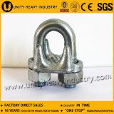 索具のハードウェア米国のタイプ低下は可鍛性鉄ワイヤーロープクリップを造った