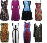 Vestidos extravagantes/vestido da forma para mulheres
