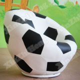 Cadeira do sofá dos miúdos do giro Shaped do futebol do jardim de infância mini