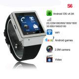 De slimme Telefoon van het Horloge met 3G Netwerk (S6)