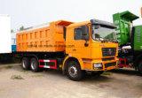 Shacman 6X4 375HP 30t~50t 덤프 트럭 팁 주는 사람 트럭