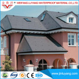 Fabricante Fornecimento Round Shape Plain Fiberglass Asphalt Roofing Shingle For Sale
